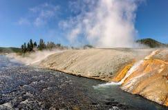 Yellowstone Nationalpark, Wyoming Stockbild