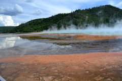 Yellowstone Nationalpark, Wyoming Lizenzfreie Stockfotos