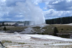 Yellowstone Nationalpark, Wyoming Stockfotos