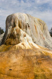 Yellowstone Orange Spring Mound Stock Image