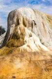Yellowstone Orange Spring Mound USA America Grand Canyon. Orange Spring Mound in Yellowstone National Park America Stock Images