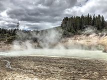 Yellowstone park narodowy Obraz Royalty Free