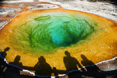Yellowstone park narodowy Obraz Royalty Free