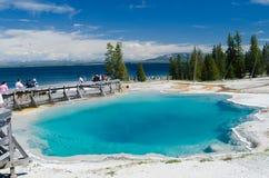 Yellowstone park narodowy Zdjęcia Royalty Free