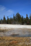 Yellowstone Park - West Thumb Geyser Basin Royalty Free Stock Photos