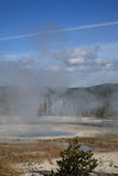 Yellowstone Park - West Thumb Geyser Basin Stock Photos
