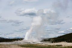 Yellowstone parka narodowego gejzer Fotografia Stock