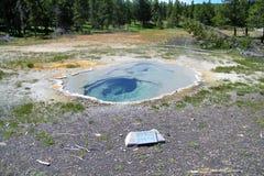 Yellowstone parka narodowego gejzery 22 Obrazy Stock