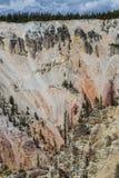 Yellowstone parka narodowego panorama Fotografia Royalty Free