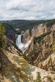 Yellowstone parka narodowego panorama Zdjęcie Stock