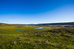 Yellowstone parka narodowego panorama Obraz Stock