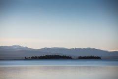 Yellowstone parka narodowego panorama Obrazy Royalty Free