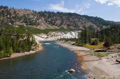 Yellowstone River Royalty Free Stock Image
