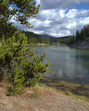 Yellowstone River Royalty Free Stock Photo