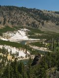 Yellowstone River Lizenzfreies Stockfoto