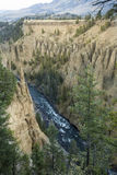 Yellowstone River in canyon at Devil's Den, Wyoming. Stock Photo
