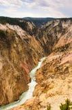 Yellowstone river gorge Royalty Free Stock Photos