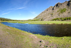 Yellowstone River Overview Royalty Free Stock Photos