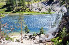 Yellowstone River Royalty Free Stock Photo
