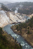 The Yellowstone River Royalty Free Stock Images