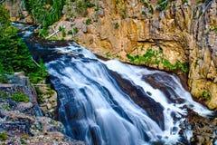 Yellowstone river waterfall Stock Photography