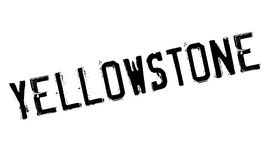 Yellowstone rubber stamp Royalty Free Stock Photo