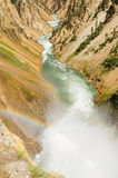 Yellowstone rzeka Obraz Royalty Free