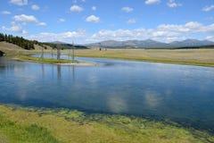 Yellowstone rzeka Zdjęcie Stock