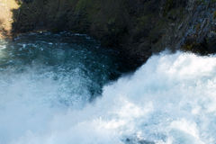 Yellowstone rzeki siklawa Obrazy Royalty Free