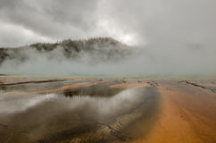 Yellowstone`s Beauty Stock Photo