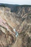 Yellowstone`s Grand Canyon Stock Image