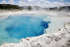 Yellowstone Sapphire Pool Royalty Free Stock Photography