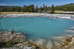 Yellowstone Sapphire Pool Stock Image
