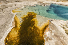 Yellowstone Sapphire Pool Stock Images