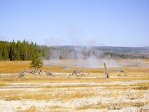 Yellowstone Termiczne wiosny Obrazy Royalty Free