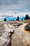 Yellowstone Thermal River Stock Photos