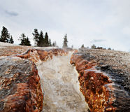 Yellowstone Thermal River Stock Images