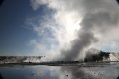 Yellowstone Uroczysta Graniastosłupowa wiosna zdjęcie stock