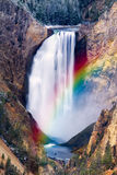 Yellowstone vermindert Dalingen royalty-vrije stock afbeelding