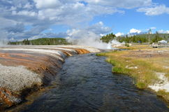 Yellowstone Volcano. This photo was taken at Yellow Stone National Park Royalty Free Stock Image
