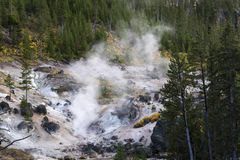Yellowstone volcano Stock Photo