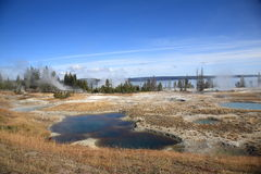 Yellowstone - West Thumb Geyser Basin Stock Image