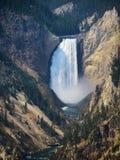 Yellowstone wierzchu spadki Zdjęcia Royalty Free