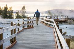 Yellowstone stock photos