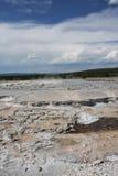 Yellowstone, WY mud pot Stock Photo