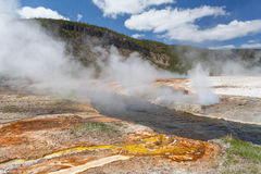 Yellowstone, Wyoming, USA Lizenzfreies Stockfoto