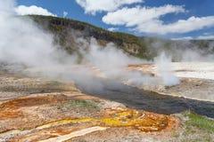 Yellowstone, Wyoming, USA. Yellowstone Wyoming USA May 10, 2015 royalty free stock photo