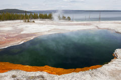 West Thumb, Yellowstone, Wyoming, USA Stock Photography
