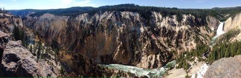 Yellowstonecanion Royalty-vrije Stock Foto