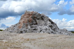 Yellowstonen Supervolcano Arkivbilder